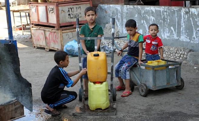 Gazze'de içme suyu sorunu