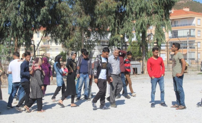 Göçmenler Bursa'da yakalandı
