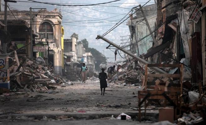 Haiti'de korkutan sarsıntı