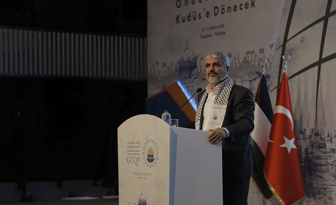 Halid Meşal, Beytülmakdis Kanaat Önderleri Forumu'nda