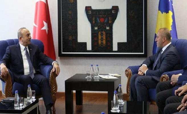 Haradinaj Çavuşoğlu'nu kabul etti