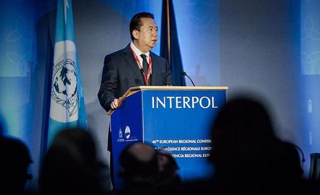Interpol kayıp başkanın istifa ettiğini duyurdu