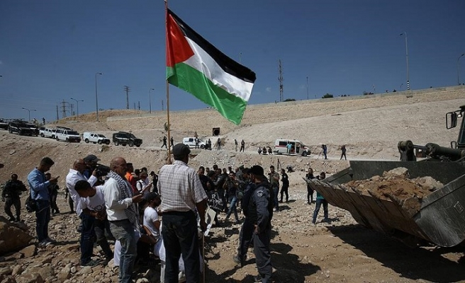 İsrail'den protestoculara müdahale