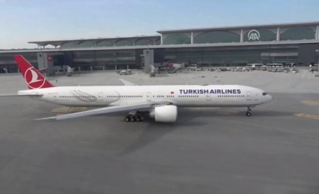 İstanbul Havalimanı'nda tarihi an 340 kişi ilk oldu
