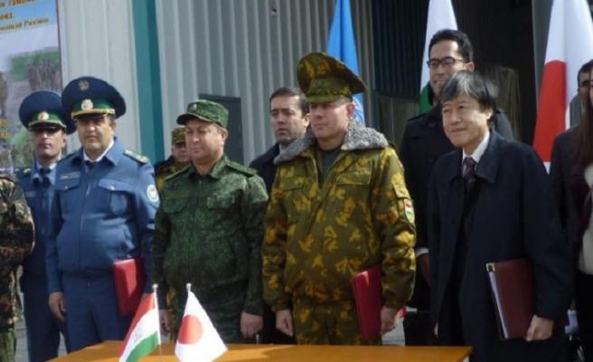 Japonya'dan Afgan-Tacik sınırına inşaat