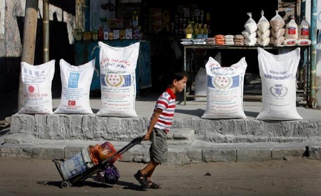 Katar'dan Gazze'ye destek