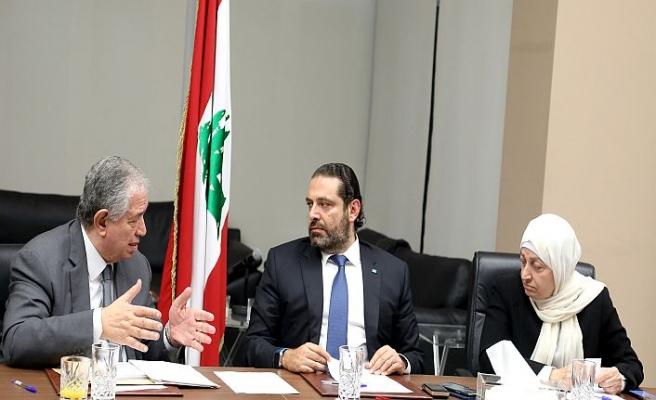 Lübnan'da Hariri rest çekti