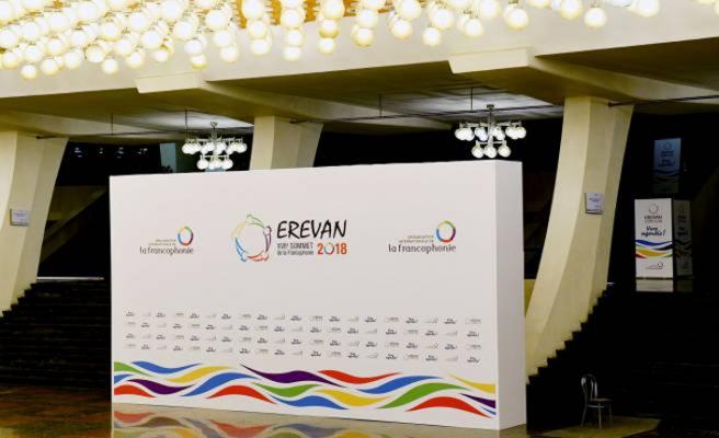 Lübnan lideri Ermenistan'da Frankofoni toplantısında