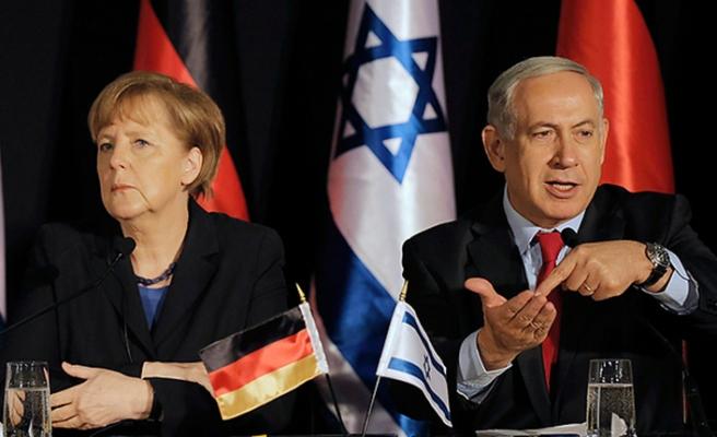 Merkel İran'a İsrail'den seslendi