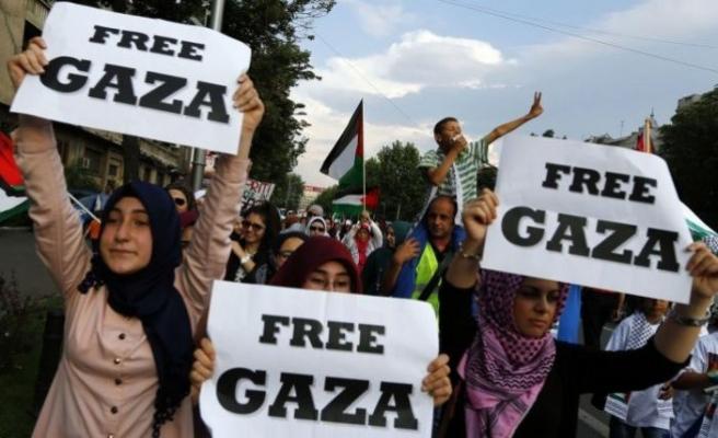 Mısır heyeti Gazze'de