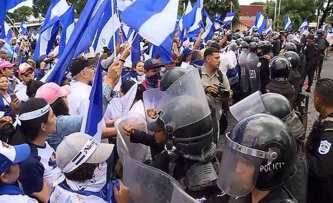 Nikaragua'da gözaltındaki 30 gösterici serbest