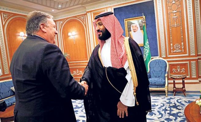 ABD Dışişleri Bakanı Pompeo'nun Suud Prensi Selman'ı tehdit ettiği iddia ediliyor