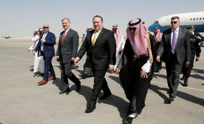 Pompeo Kaşıkçı için Suudi Arabistan'da
