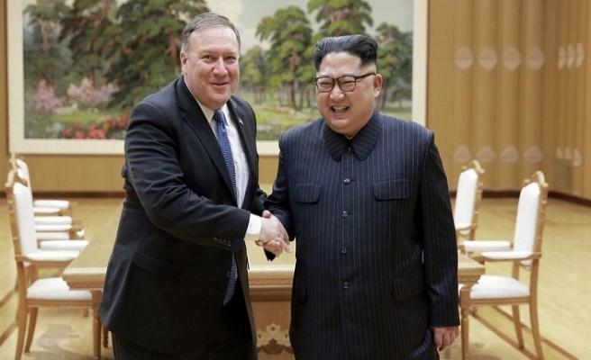 Pompeo Kuzey Kore'de