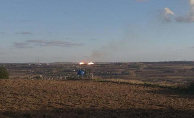Silivri'de doğalgaz boru hattında patlama