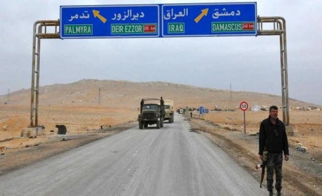 Suriye-Irak sınır kapısının 'hızlıca' açılması istendi