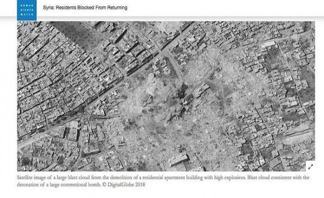 Suriyeli mültecilerin bıraktıkları evler yıkılıyor