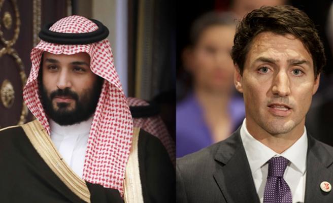 Suudi Arabistan'a bir tehdit de Kanada'dan