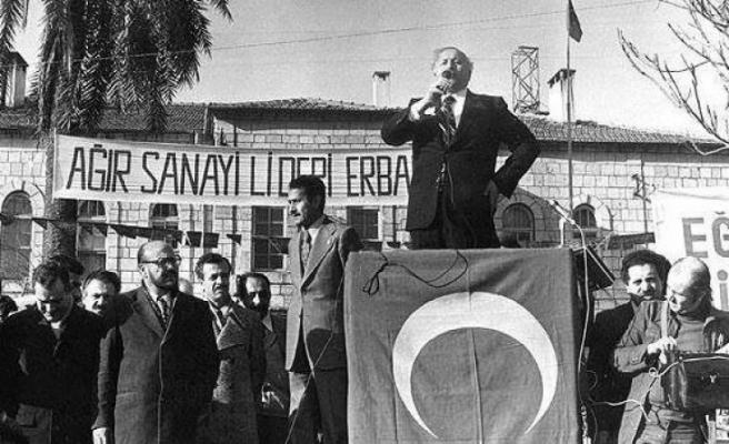 Tarihte bugün (11 Ekim): Milli Selamet Partisi kuruldu