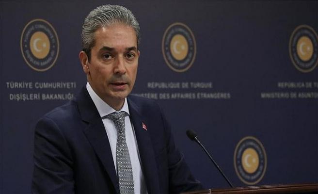 Türkiye'den Yunanistan ve Mısır'a tepki