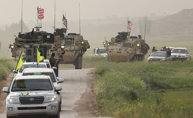 YPG Münbiç'te çukur kazıyor
