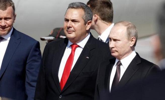 Yunan Savunma Bakanı'ndan Moskova ziyareti