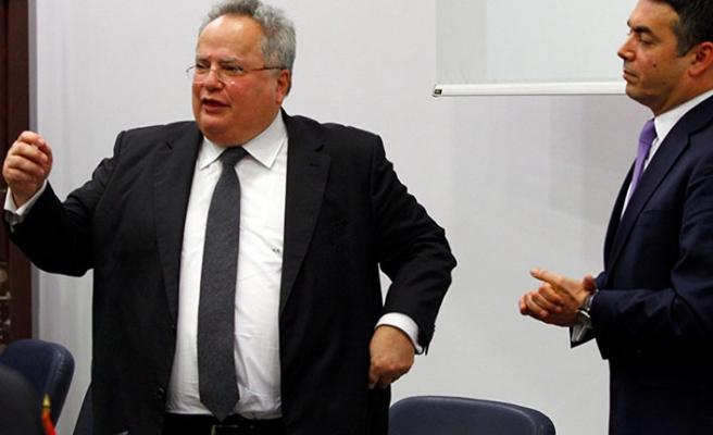 Yunanistan Dışişleri Bakanı Kocias istifa etti