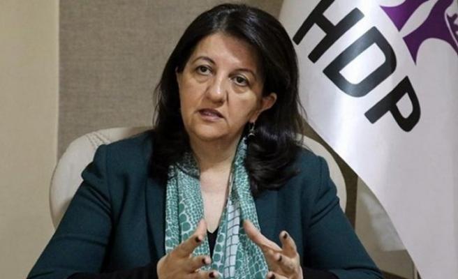 HDP Eş Genel Başkanı Buldan hakkında fezleke düzenlendi