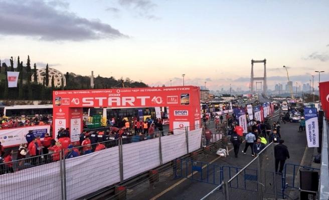 İstanbullulara Vodafone maratonu uyarısı