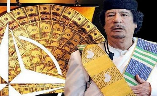 Kaddafi'nin paraları nereye transfer edildi?