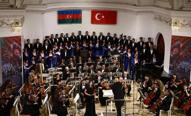 Azerbaycan'da Kafkas İslam Ordusu'na vefa konseri