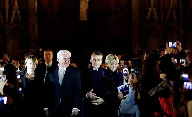 Macron 7 gün sürecek 'Ateşkes Günü turuna' başladı