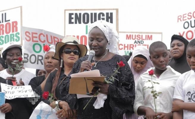 Nijerya'da başörtüsü eylemi