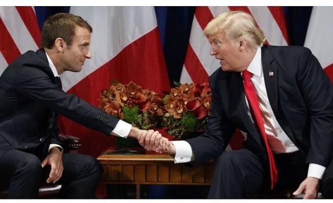 Trump'tan Macron'a çok sert tepki