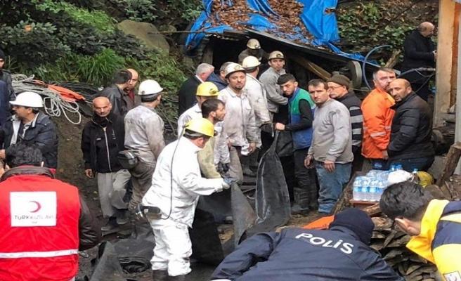 Üç madenci hayatını kaybetti