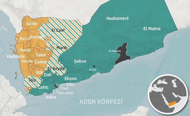 Yemen ordusu Hudeyde'de ilerliyor