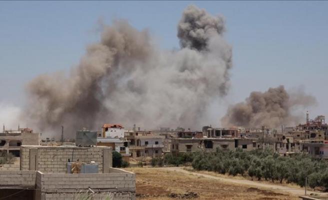 ABD Deyrizor'da camiden sonra hastane vurdu