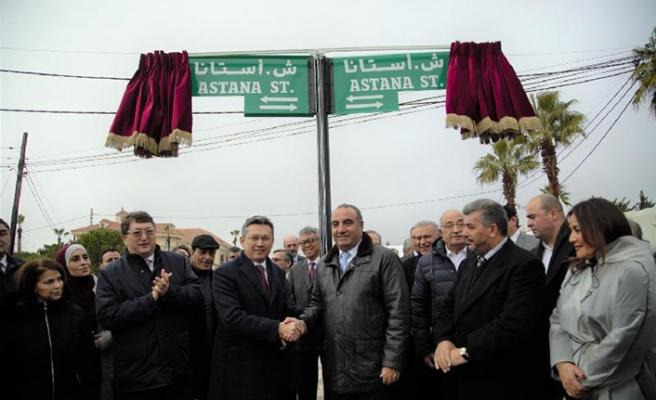 Amman ile Astana arasında kardeşlik caddesi