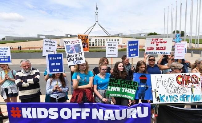 """Avustralya'nın göçmen kampları """"İnsanlığa Karşı Suçtur"""""""