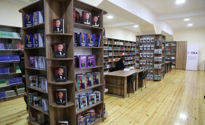 Azerbaycan'da Nuri Paşa Kütüphanesi açıldı