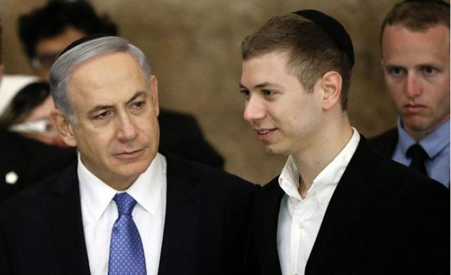 Netanyahu'nun oğlu da babasıyla aynı kafada!