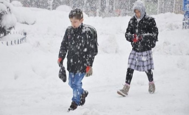 Başkentte kar tatili