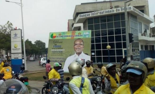 Benin Cumhurbaşkanı afişlerde görünmeyecek