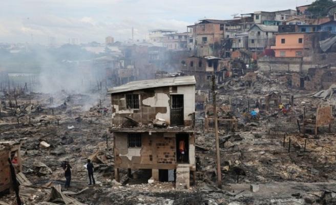 Brezilya'da halk yangınla sel arasında kaldı