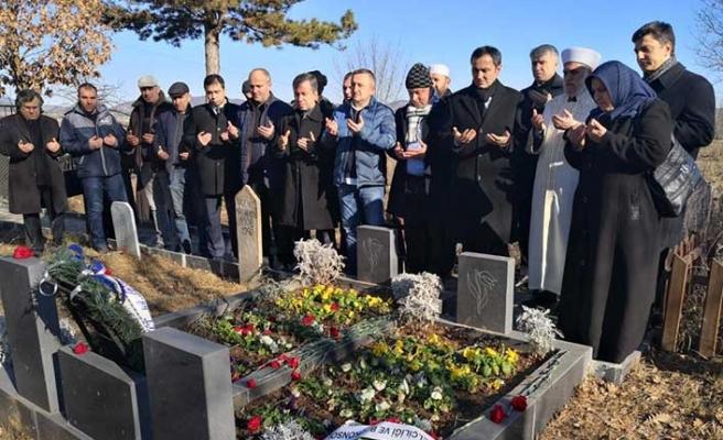 Bulgaristan'da şehitler anıldı