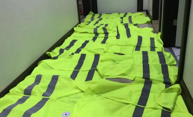 Bursa'da sarı yelek operasyonu