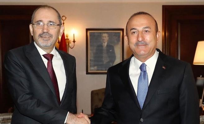 Dışişleri Bakanı Çavuşoğlu Ürdünlü mevkidaşı Safadi'yle görüştü