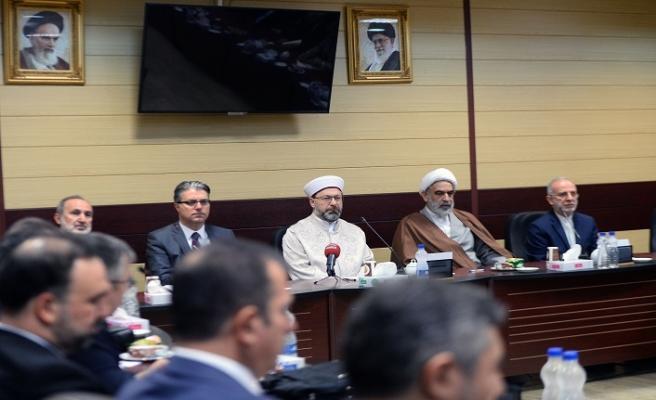 Diyanet İşleri Başkanı Prof. Dr. Ali Erbaş İran'da