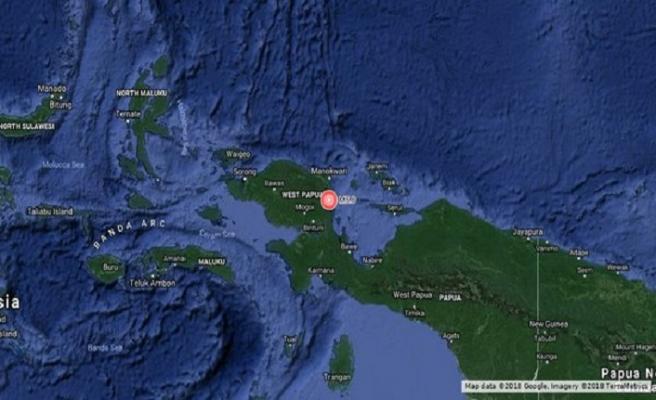 Endonezya'da yine deprem: 6,1