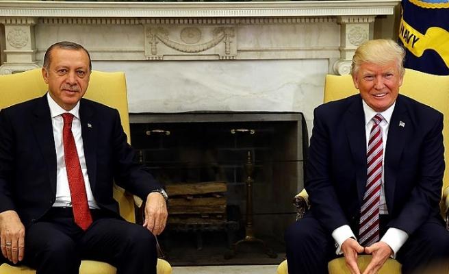 Cumhurbaşkanı Erdoğan ve Trump Suriye'yi görüştü